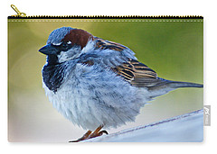 Carry-all Pouch featuring the photograph Guard Bird by Colleen Coccia