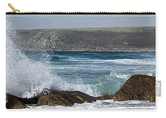 Gull On The Sand Carry-all Pouch by Linsey Williams