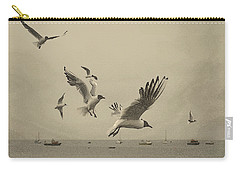 Gulls Carry-all Pouch by Linsey Williams