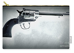 Carry-all Pouch featuring the photograph Guns And Leather 3 by Deniece Platt