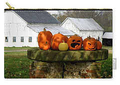 Halloween Scene Carry-all Pouch by Lainie Wrightson