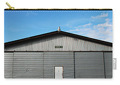 Carry-all Pouch featuring the photograph Hangar 2 by Kathleen Grace