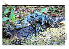 Hard Day In The Swamp - Digital Art Carry-all Pouch by Carol Groenen