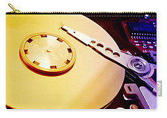 Hard Disk Detail Carry-all Pouch