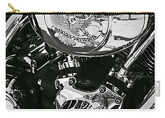 Harley Davidson Bike - Chrome Parts 02 Carry-all Pouch