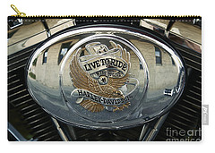 Harley Davidson Bike - Chrome Parts 44c Carry-all Pouch
