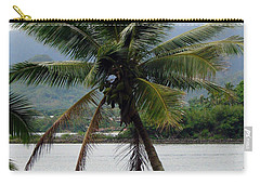 Hawaiian Palm Carry-all Pouch by Athena Mckinzie