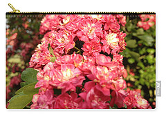 Hawthorn Flowers Carry-all Pouch by Chriss Pagani