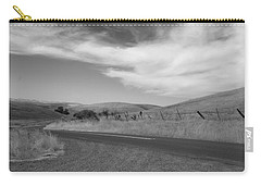 Carry-all Pouch featuring the photograph Heading Inland by Kathleen Grace
