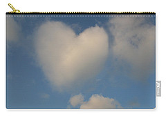 Heart In The Clouds Carry-all Pouch