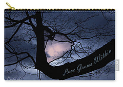 Heart In Tree Love Grows Within  Carry-all Pouch