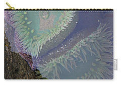 Carry-all Pouch featuring the photograph Heart Of The Tide Pool by Mick Anderson