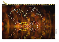 Carry-all Pouch featuring the photograph Heartbeat by Vicki Pelham