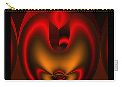 Carry-all Pouch featuring the digital art Hearts Desire by Vicki Pelham
