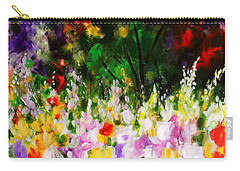 Heavenly Garden Carry-all Pouch by Kume Bryant