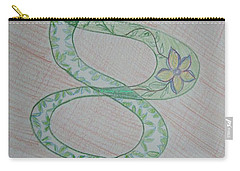 Carry-all Pouch featuring the painting Helix  by Sonali Gangane