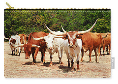 Some Long Horns Ya Got There Carry-all Pouch