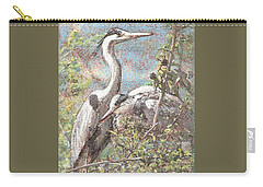 Herons Resting Carry-all Pouch