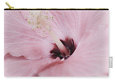 Carry-all Pouch featuring the photograph Hibiscus Moments by Janie Johnson