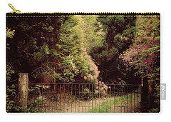 Carry-all Pouch featuring the photograph Hidden Garden by Marilyn Wilson