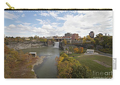 Carry-all Pouch featuring the photograph High Falls by William Norton