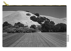 Carry-all Pouch featuring the photograph Hillside Farmland by Kathleen Grace