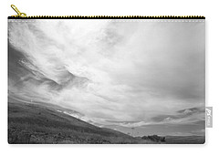 Carry-all Pouch featuring the photograph Hillside Meets Sky by Kathleen Grace