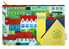 Hillside Village Carry-all Pouch