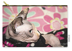 Hippie Cat Carry-all Pouch