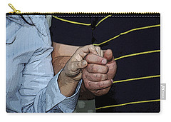 Holding Hands Carry-all Pouch