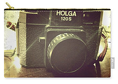 Carry-all Pouch featuring the photograph Holga by Nina Prommer