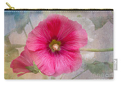 Hollyhock Carry-all Pouch by Lena Auxier