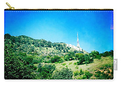Carry-all Pouch featuring the photograph Hollywood by Nina Prommer