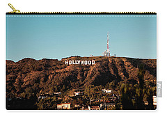 Hollywood Sign At Sunset Carry-all Pouch