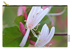 Carry-all Pouch featuring the photograph Honeysuckle by JD Grimes