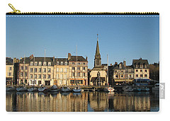 Carry-all Pouch featuring the photograph Honfleur  by Carla Parris