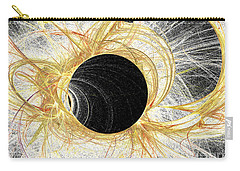 Carry-all Pouch featuring the digital art Horizon by Kim Sy Ok