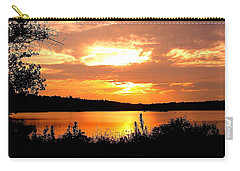 Horn Pond Sunset 2 Carry-all Pouch