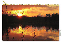 Horn Pond Sunset 8 Carry-all Pouch