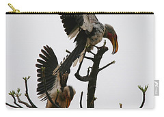 Hornbill Courtship Carry-all Pouch by Bruce J Robinson