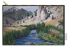 Hot Creek Carry-all Pouch by Barbara Prestridge