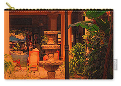 Carry-all Pouch featuring the photograph Hotel Alhambra by Lydia Holly