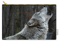 Howling Tundra Wolf Carry-all Pouch