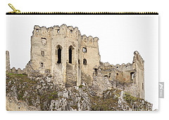 Carry-all Pouch featuring the photograph Hrad Beckov Castle by Les Palenik