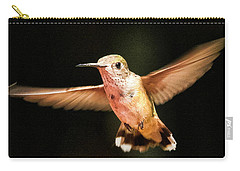 Carry-all Pouch featuring the photograph Hummingbird  by Albert Seger