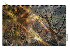 Carry-all Pouch featuring the photograph Hunter by EricaMaxine  Price