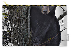 Hunting Berries Carry-all Pouch by Ronald Lutz