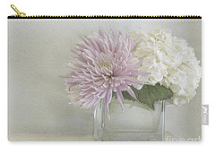 Hydrangea And Mum Carry-all Pouch