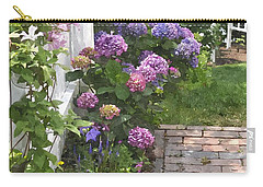 Hydrangeas  Hwc Carry-all Pouch by Jim Brage