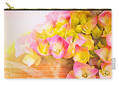 Hydrangeas In Bloom Carry-all Pouch